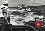 Image of US Navy patrol boat drops depth charges Atlantic Ocean, 1942, second 9 stock footage video 65675062275