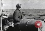 Image of German U-boat Atlantic Ocean, 1942, second 10 stock footage video 65675062276