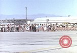 Image of Thunderbird aerobatic team Las Vegas Nevada USA, 1960, second 8 stock footage video 65675062289