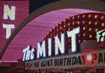 Image of gambling casino Las Vegas Nevada USA, 1960, second 11 stock footage video 65675062291