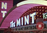 Image of gambling casino Las Vegas Nevada USA, 1960, second 12 stock footage video 65675062291