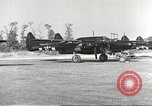Image of P-61 Black Widow France, 1944, second 10 stock footage video 65675062292