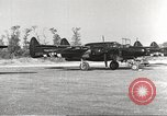 Image of P-61 Black Widow France, 1944, second 11 stock footage video 65675062292