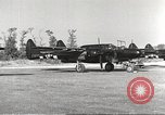 Image of P-61 Black Widow France, 1944, second 12 stock footage video 65675062292
