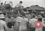 Image of US prisoners of war liberated from Japanese prison in World War II Cabanatuan Philippines, 1945, second 2 stock footage video 65675062318