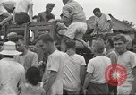 Image of US prisoners of war liberated from Japanese prison in World War II Cabanatuan Philippines, 1945, second 5 stock footage video 65675062318