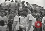 Image of US prisoners of war liberated from Japanese prison in World War II Cabanatuan Philippines, 1945, second 7 stock footage video 65675062318