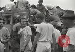 Image of US prisoners of war liberated from Japanese prison in World War II Cabanatuan Philippines, 1945, second 8 stock footage video 65675062318