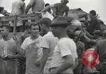 Image of US prisoners of war liberated from Japanese prison in World War II Cabanatuan Philippines, 1945, second 10 stock footage video 65675062318