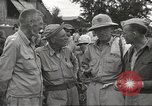 Image of American prisoners of war liberated from Japanese prison camp Guimba Philippines, 1945, second 4 stock footage video 65675062320