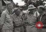 Image of American prisoners of war liberated from Japanese prison camp Guimba Philippines, 1945, second 5 stock footage video 65675062320