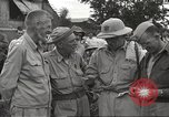 Image of American prisoners of war liberated from Japanese prison camp Guimba Philippines, 1945, second 6 stock footage video 65675062320