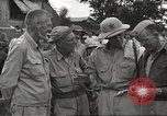 Image of American prisoners of war liberated from Japanese prison camp Guimba Philippines, 1945, second 7 stock footage video 65675062320