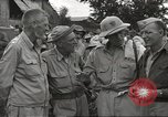 Image of American prisoners of war liberated from Japanese prison camp Guimba Philippines, 1945, second 9 stock footage video 65675062320