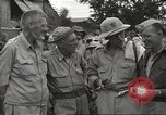 Image of American prisoners of war liberated from Japanese prison camp Guimba Philippines, 1945, second 10 stock footage video 65675062320