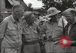 Image of American prisoners of war liberated from Japanese prison camp Guimba Philippines, 1945, second 11 stock footage video 65675062320