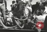 Image of Americans rescued from Japanese prison arrive at hospital Luzon Island Philippines, 1945, second 4 stock footage video 65675062321