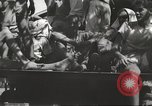 Image of Americans rescued from Japanese prison arrive at hospital Luzon Island Philippines, 1945, second 5 stock footage video 65675062321