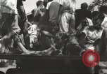 Image of Americans rescued from Japanese prison arrive at hospital Luzon Island Philippines, 1945, second 6 stock footage video 65675062321