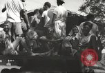 Image of Americans rescued from Japanese prison arrive at hospital Luzon Island Philippines, 1945, second 7 stock footage video 65675062321