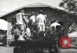 Image of Americans rescued from Japanese prison arrive at hospital Luzon Island Philippines, 1945, second 9 stock footage video 65675062321