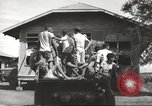 Image of Americans rescued from Japanese prison arrive at hospital Luzon Island Philippines, 1945, second 10 stock footage video 65675062321