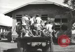 Image of Americans rescued from Japanese prison arrive at hospital Luzon Island Philippines, 1945, second 11 stock footage video 65675062321