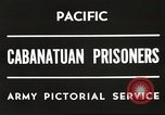 Image of American prisoners of war Philippines, 1945, second 4 stock footage video 65675062342