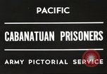 Image of American prisoners of war Philippines, 1945, second 7 stock footage video 65675062342