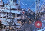 Image of aircraft carrier Pacific Ocean, 1944, second 12 stock footage video 65675062402