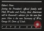 Image of Roosevelt's cabinet United States USA, 1933, second 9 stock footage video 65675062429