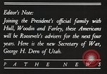 Image of Roosevelt's cabinet United States USA, 1933, second 12 stock footage video 65675062429