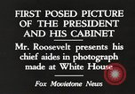 Image of Roosevelt's cabinet United States USA, 1933, second 1 stock footage video 65675062430