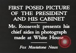Image of Roosevelt's cabinet United States USA, 1933, second 4 stock footage video 65675062430