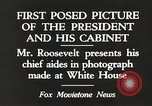 Image of Roosevelt's cabinet United States USA, 1933, second 5 stock footage video 65675062430