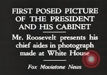 Image of Roosevelt's cabinet United States USA, 1933, second 7 stock footage video 65675062430
