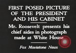 Image of Roosevelt's cabinet United States USA, 1933, second 9 stock footage video 65675062430