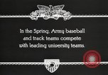 Image of West Point cadets West Point New York USA, 1931, second 6 stock footage video 65675062470