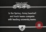 Image of West Point cadets West Point New York USA, 1931, second 8 stock footage video 65675062470