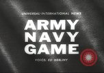 Image of Army Navy football game with President John Kennedy Philadelphia Pennsylvania USA, 1962, second 3 stock footage video 65675062502