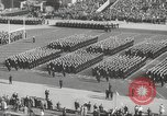 Image of Army Navy football game with President John Kennedy Philadelphia Pennsylvania USA, 1962, second 11 stock footage video 65675062502