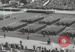 Image of Army Navy football game with President John Kennedy Philadelphia Pennsylvania USA, 1962, second 12 stock footage video 65675062502