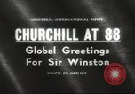 Image of Winston Churchill United Kingdom, 1962, second 1 stock footage video 65675062505