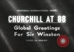 Image of Winston Churchill United Kingdom, 1962, second 5 stock footage video 65675062505