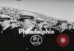 Image of football match Philadelphia Pennsylvania USA, 1955, second 4 stock footage video 65675062513