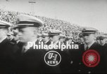 Image of football match Philadelphia Pennsylvania USA, 1955, second 5 stock footage video 65675062513