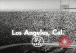 Image of football match Los Angeles California USA, 1955, second 2 stock footage video 65675062514