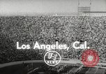 Image of football match Los Angeles California USA, 1955, second 3 stock footage video 65675062514