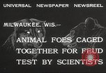 Image of animal foes Milwaukee Wisconsin USA, 1932, second 3 stock footage video 65675062516
