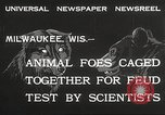 Image of animal foes Milwaukee Wisconsin USA, 1932, second 8 stock footage video 65675062516